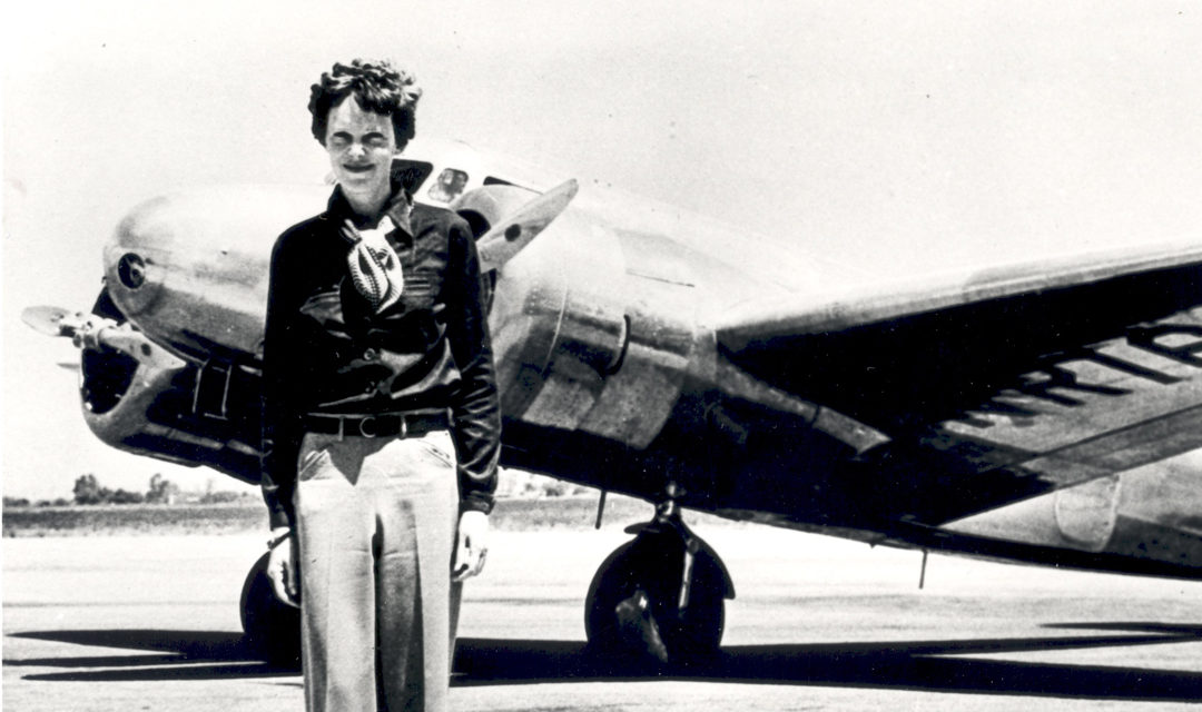 Amelia Earhart: Lost in Time, Lost in Space