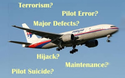 Malaysian Flight 370: Some Theories are Off in the Wild Blue Yonder