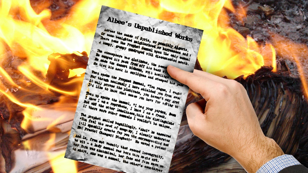 What did Edward Albee Leave Behind?