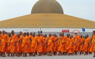 Stranger Than Fiction…A Monk or a Mafia Don?