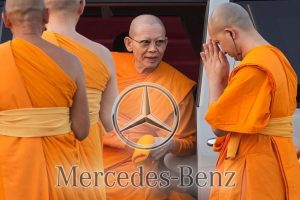 Monasteries are said to have bought Mercedes