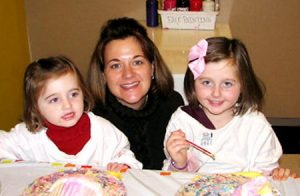 Jackie Hance, sister-in-law of Diane Schuler, is shown in photo with two of her three daughters who were killed in crash Sunday when Schuler entered Taconic Parkway and drove the wrong way