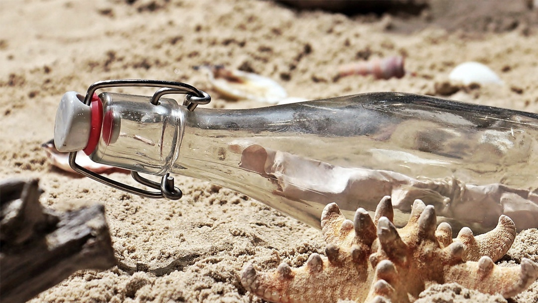 Message in a Bottle, for Science