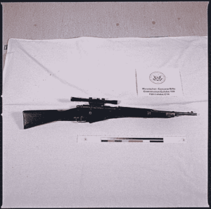 Mannlicher Carcano with a scope – The JFK assassination rifle