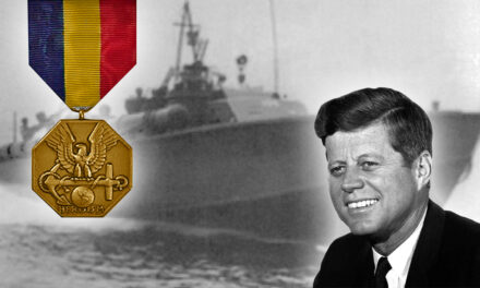 LOST A BOAT – BUT GOT A MEDAL