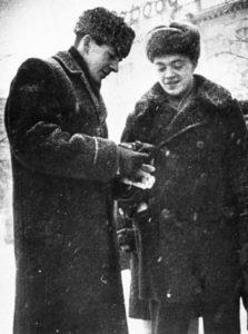 KGB surveillance photo of Lee Harvey Oswald